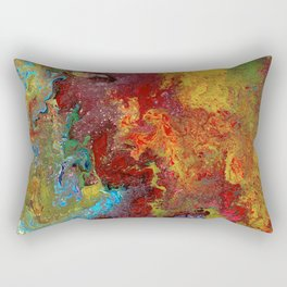 Color Fantasy Rectangular Pillow