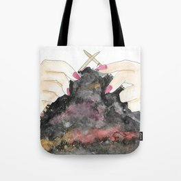 Knitting space Tote Bag