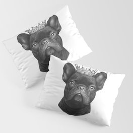King french bulldog Pillow Sham
