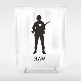 Raw Love Shower Curtain
