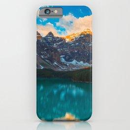 Moraine Lake Banff National Park Canada Ultra HD iPhone Case