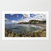 agnes Art Prints featuring St Agnes by Mark Nelson
