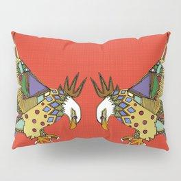 jewel eagle fire Pillow Sham