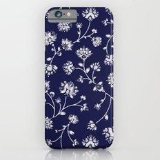 Indigo Floral Trail iPhone 6s Slim Case