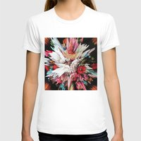 glitch T-shirts featuring Floral Glitch II by Kate Tova