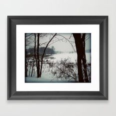Chilled Evening II Framed Art Print