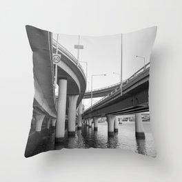 Tangle  Freeway - 60 Throw Pillow
