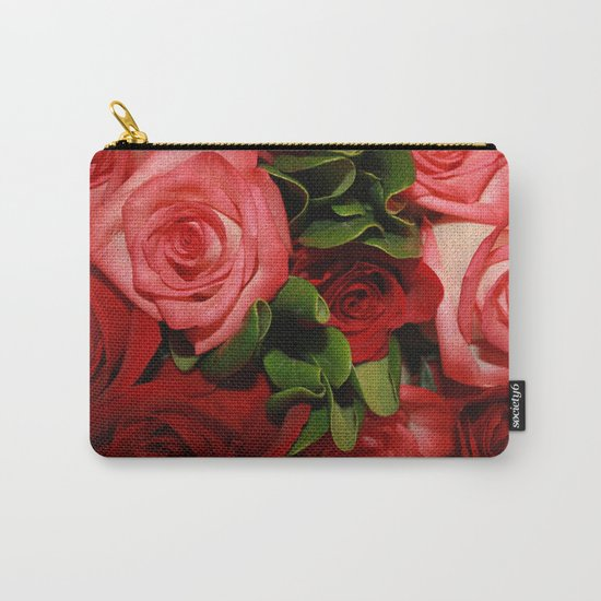 Forever Love - Roses Carry-All Pouch