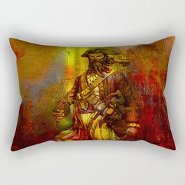 The den of the pirate Rectangular Pillow
