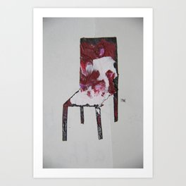 Chair.3 Art Print