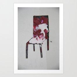 Chair.3 Art Print