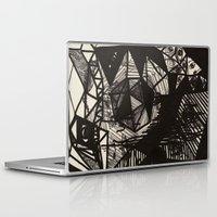 illuminati Laptop & iPad Skins featuring Illuminati Bear by Spyck