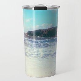 California Sunshine Waves Travel Mug