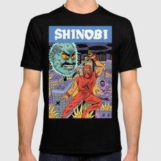 Shinobi Mens Fitted Tee Black LARGE