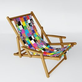 Jesus is The New Pattern 2 Sling Chair