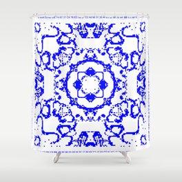 CA Fantasy Blue series #5 Shower Curtain