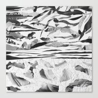 sand Canvas Prints featuring Sand  by Jihan Mv