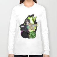 saga Long Sleeve T-shirts featuring Legend of Sanctuary Saga by C_Jinebra
