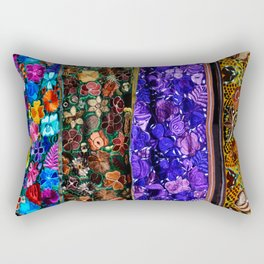 mexican art Rectangular Pillow