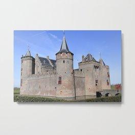 Muiden Castle Metal Print