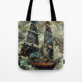 Riding the Gale Tote Bag