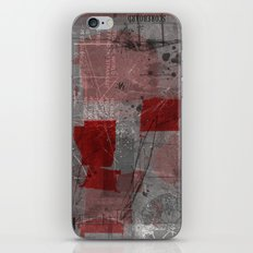 unfolded 8 iPhone & iPod Skin