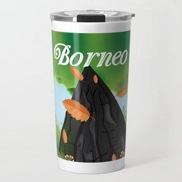 Borneo Rainforest travel poster Travel Mug