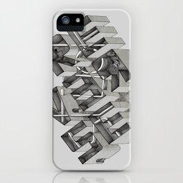 Stuck in Reverse iPhone Case