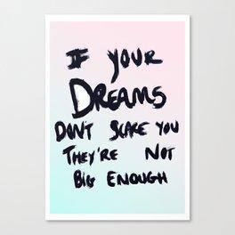 Ombré Dreams Canvas Print