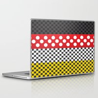 minnie mouse Laptop & iPad Skins featuring Minnie by AmadeuxArt