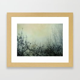 Dark Morning Framed Art Print