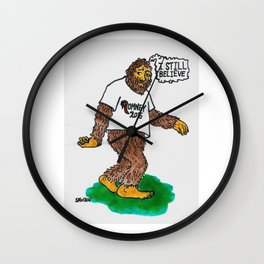 Bigfoot Still Believes Wall Clock