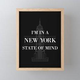New York State of Mind #2 Framed Mini Art Print