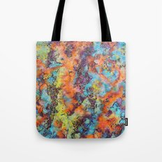 Playing colors Tote Bag