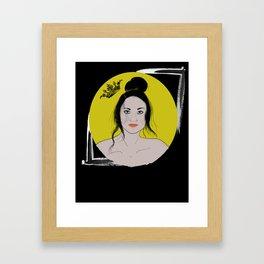 The Cerberus Queen Framed Art Print