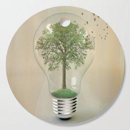 green ideas Cutting Board