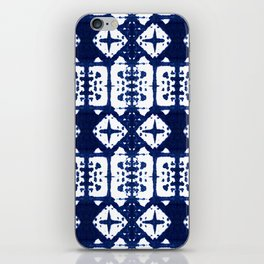 Indigo Shibori Windows iPhone Skin