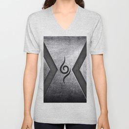 anbu metalic Unisex V-Neck