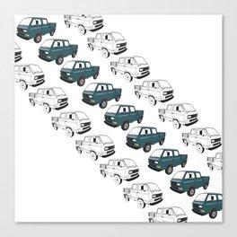Doka Truck Canvas Print