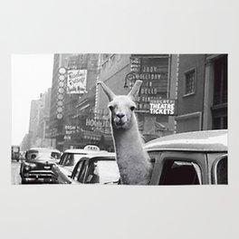 New York Llama Rug