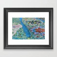 the fountain 1 Framed Art Print