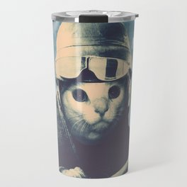 Flight Cat Travel Mug