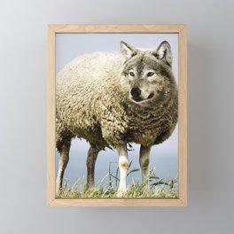 Wolf in Sheep's Clothing Framed Mini Art Print
