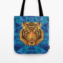 Liger Abstract - Its a Lion Tiger Hybrid Tote Bag
