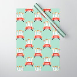 The four amigos Wrapping Paper