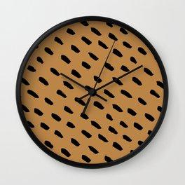 Animal Pattern Wall Clock