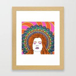 Mary Epworth Framed Art Print