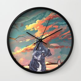 Delirium of the Endless Wall Clock