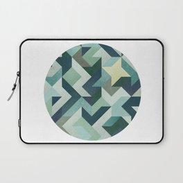 Circle Geometry Laptop Sleeve