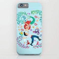 Mermaid wall painting iPhone 6s Slim Case